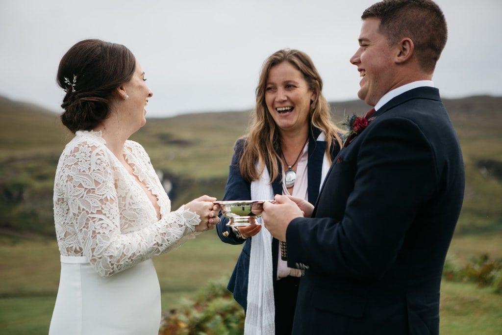 celebrating elopement marriage