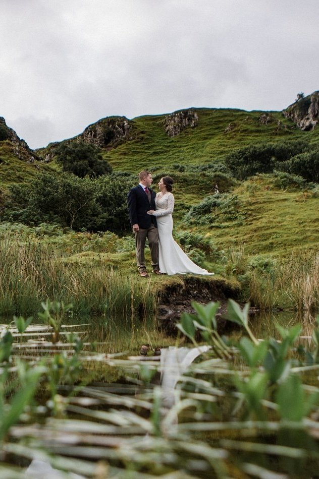 Enchanted Fairy Glen Elopement in the Isle of Skye, Scotland | Amelia & Josh
