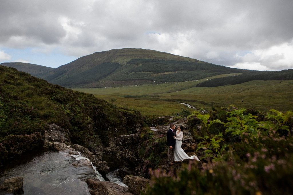 Romantic elopement location