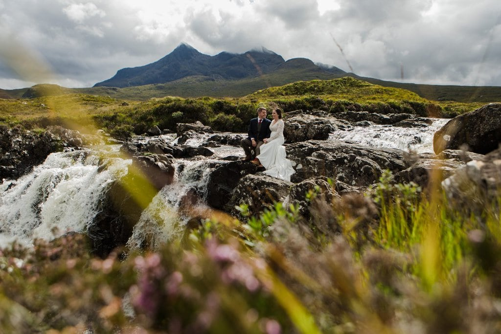 Isle of Skye elopement portraits