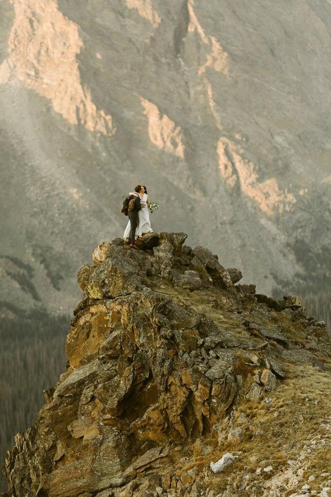Adventurous Mountain Elopement in the Rocky Mountains, Colorado