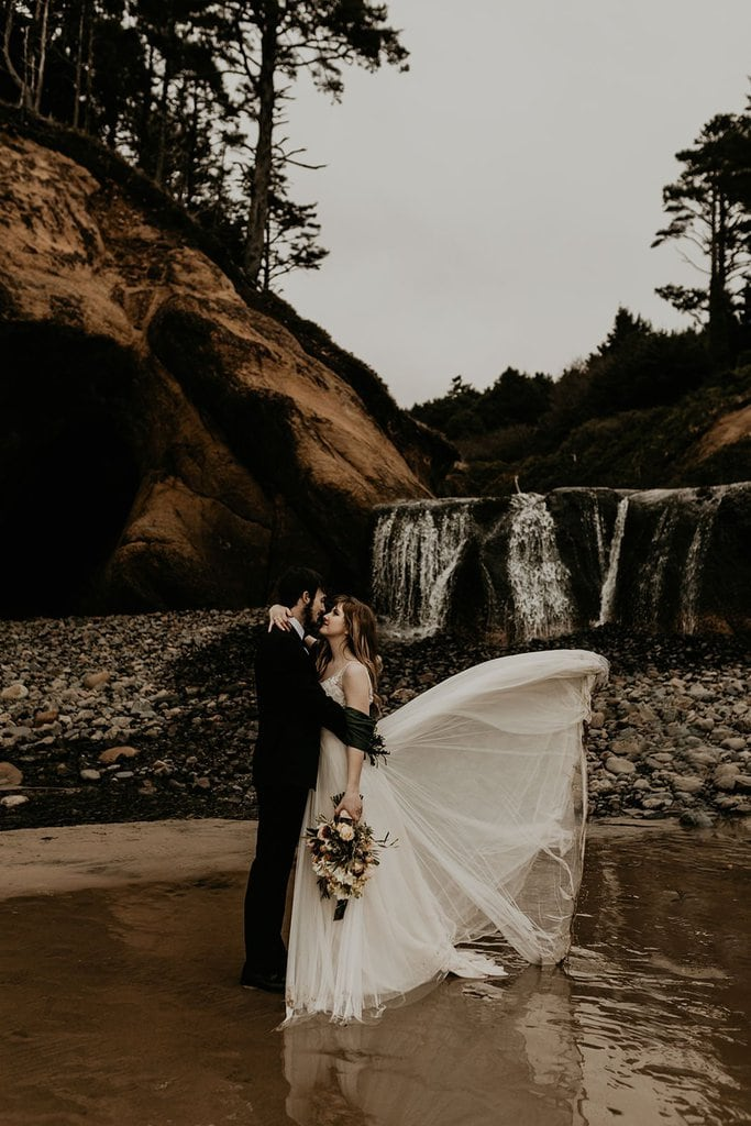 Moody, Hug Point Elopement Inspiration, OR