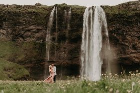 15 Photos to Inspire Your Waterfall Engagement Session