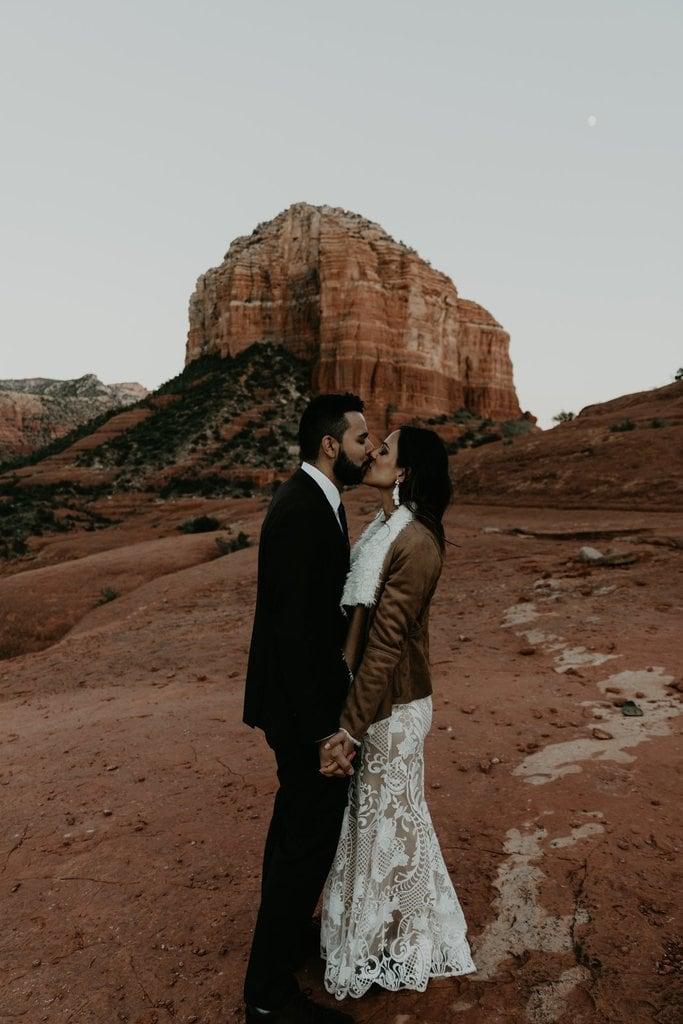 bell rock sedona arizona adventure elopement wedding