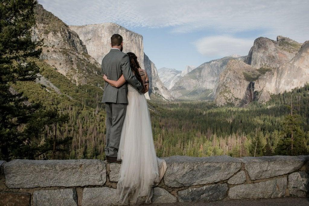 yosemite national park california mountain elopement wedding