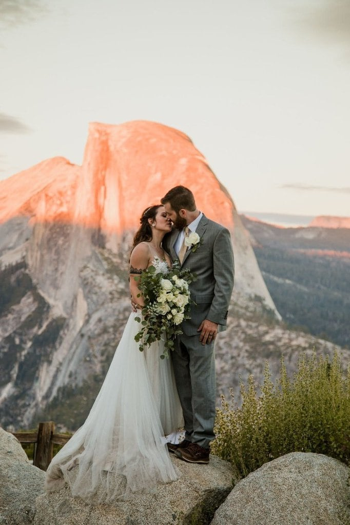 yosemite national park california mountain elopement wedding