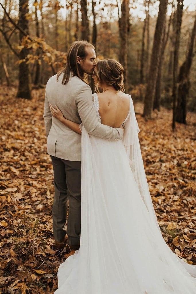 cloudland canyon state park georgia forest adventure elopement fall autumn wedding