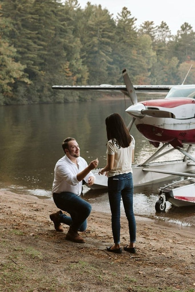 Float Plane Proposal in Bon Echo Provincial Park, Ontario, Canada