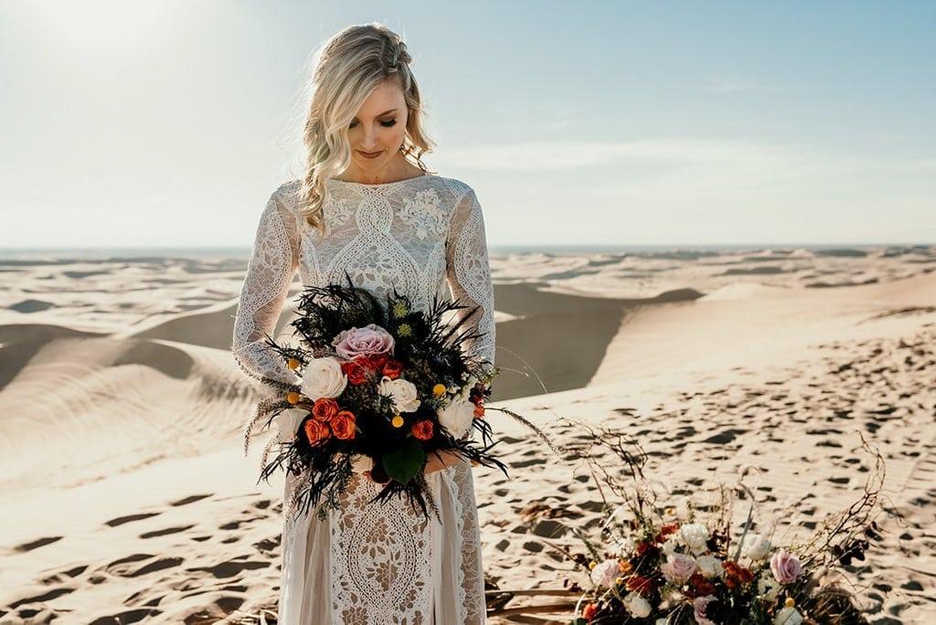 elopement bridal portraits