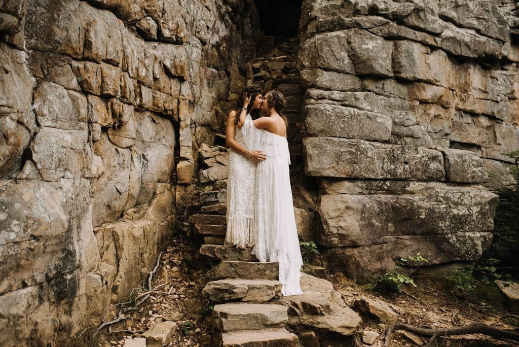 great stone door nashville tennessee boho wedding