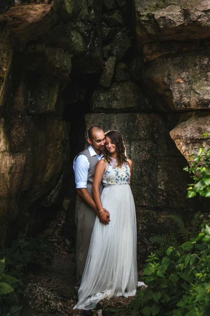 sam's point preserve cragsmoor new york elopement wedding
