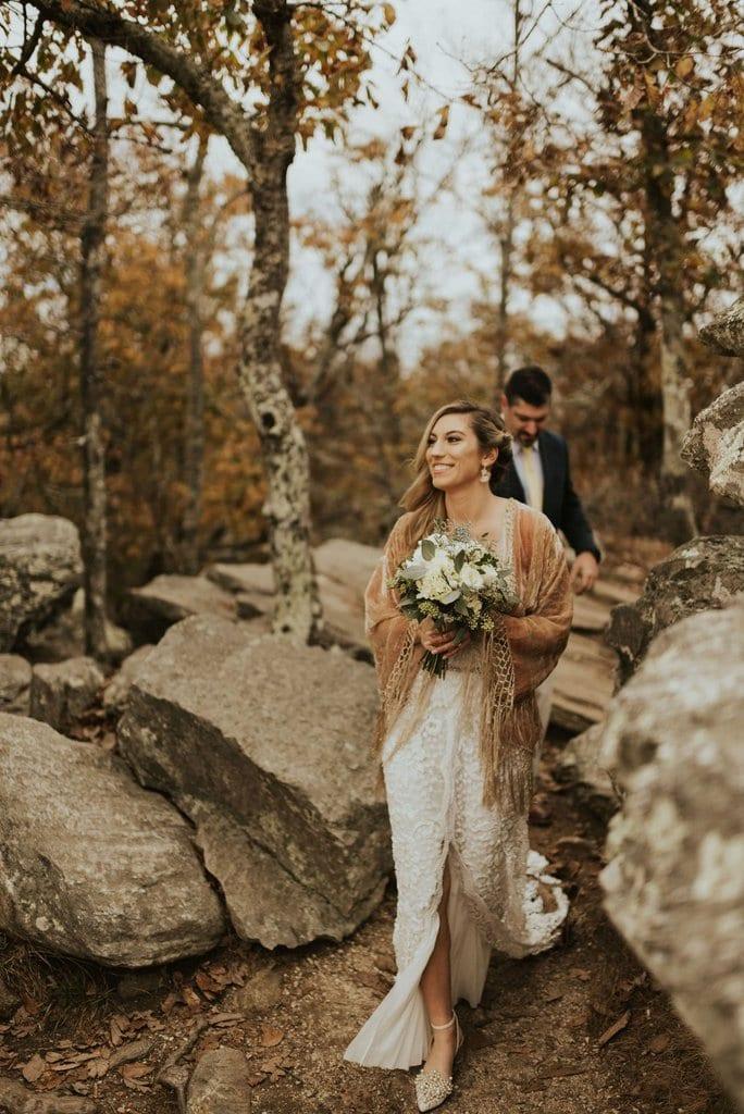 alabama bald rock elopement wedding cheaha state park