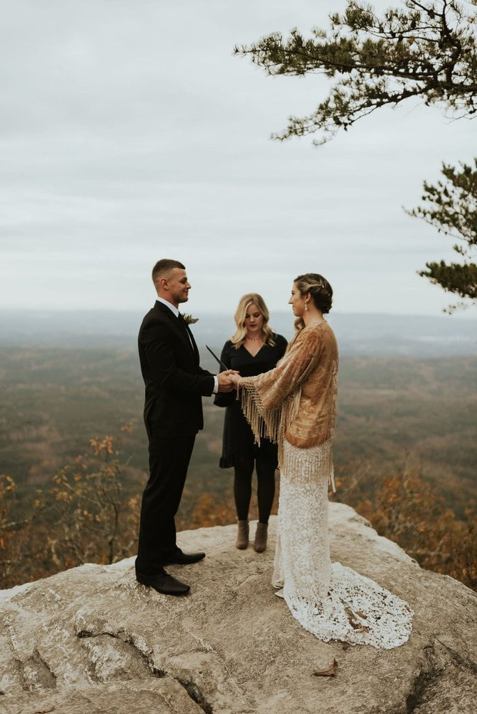 Bald Rock Adventure Wedding at Cheaha State Park in Delta, Alabama