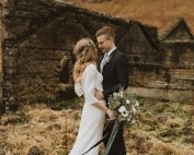 black church intimate elopement adventure wedding iceland