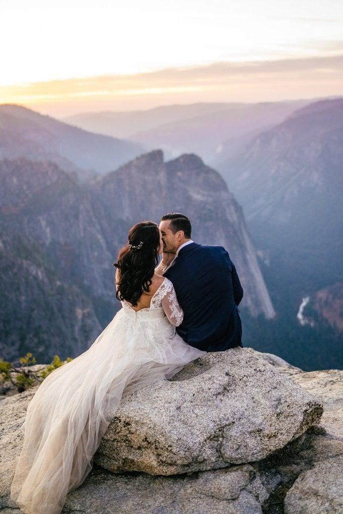 weddings mountain adventure wedding elopement inspiration yosemite national park california