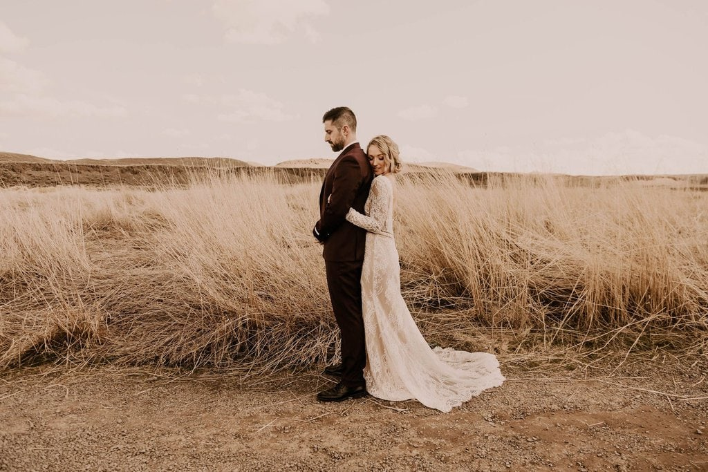 palouse falls washington pnw elopement boho wedding