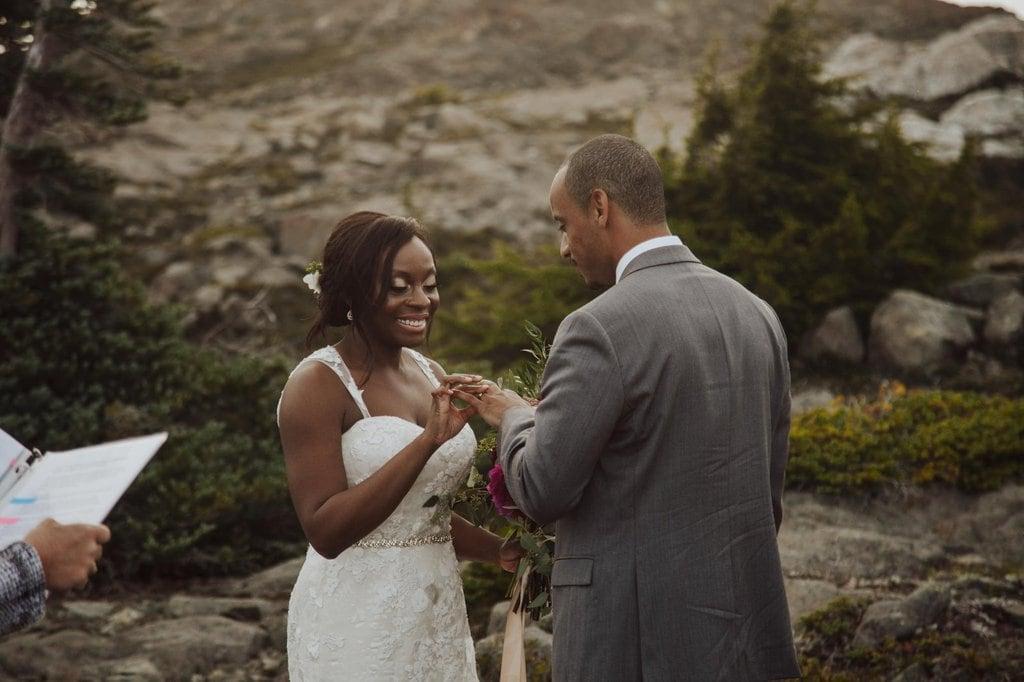 wood mountain lodge courtenay british columbia canada elopement wedding