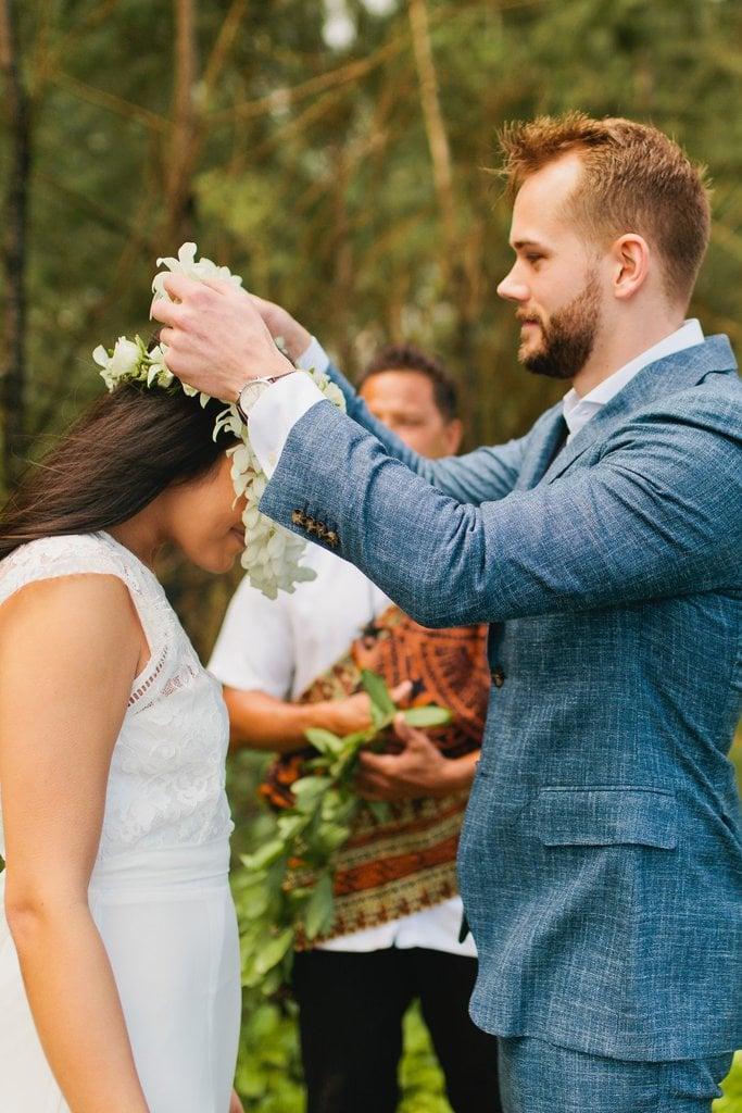 waipio valley big island hawaii elopement adventure wedding
