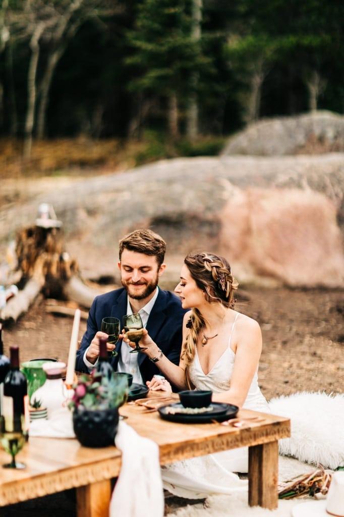 adventure elopement wedding inspiration session nederland colorado