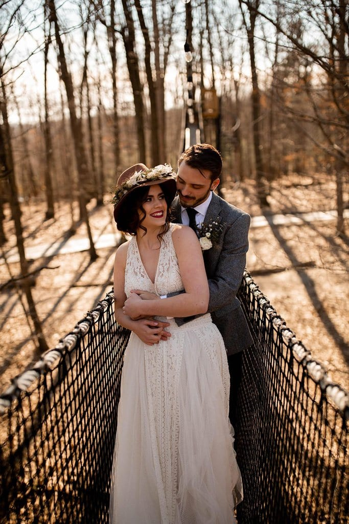 treehouse elopement location near ohio