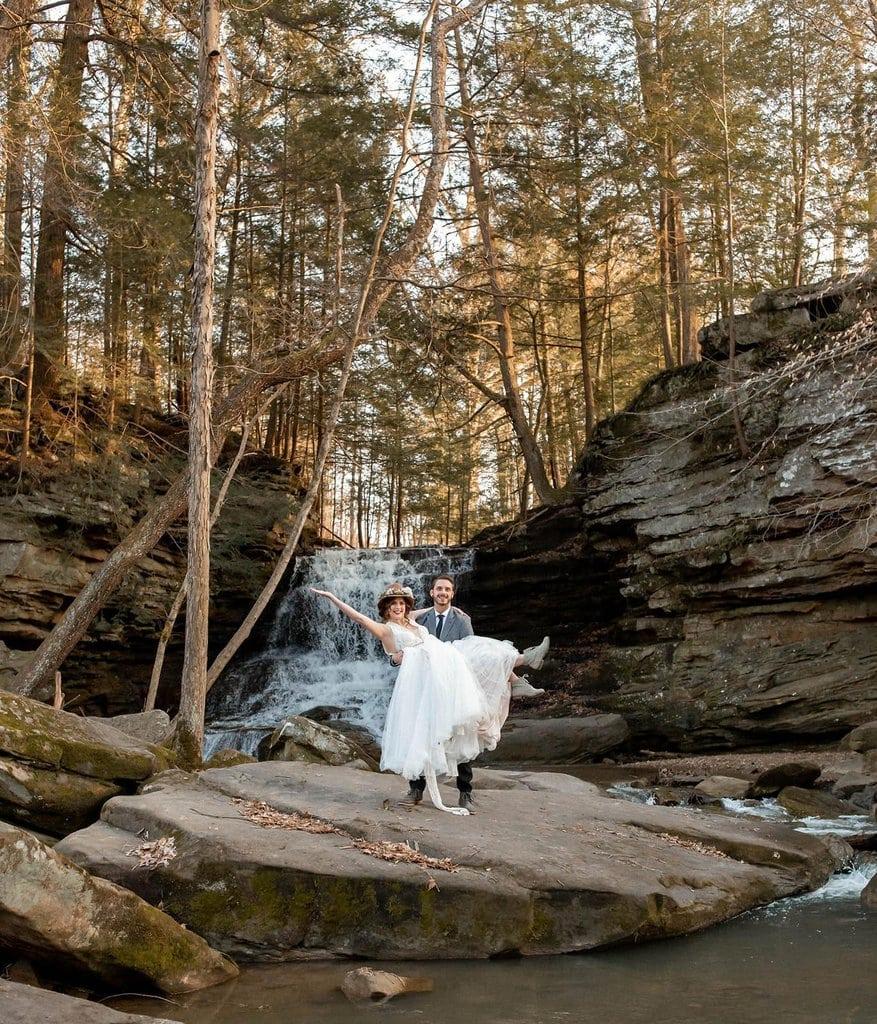 elopement portraits near ohio