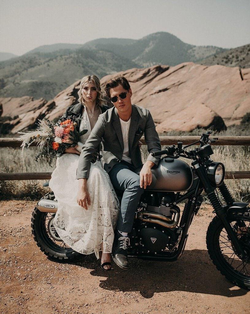 Red Rocks Park wedding.