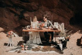 Boho Wedding Inspiration at Red Rocks Park & The Trading Post in Morrison, Colorado