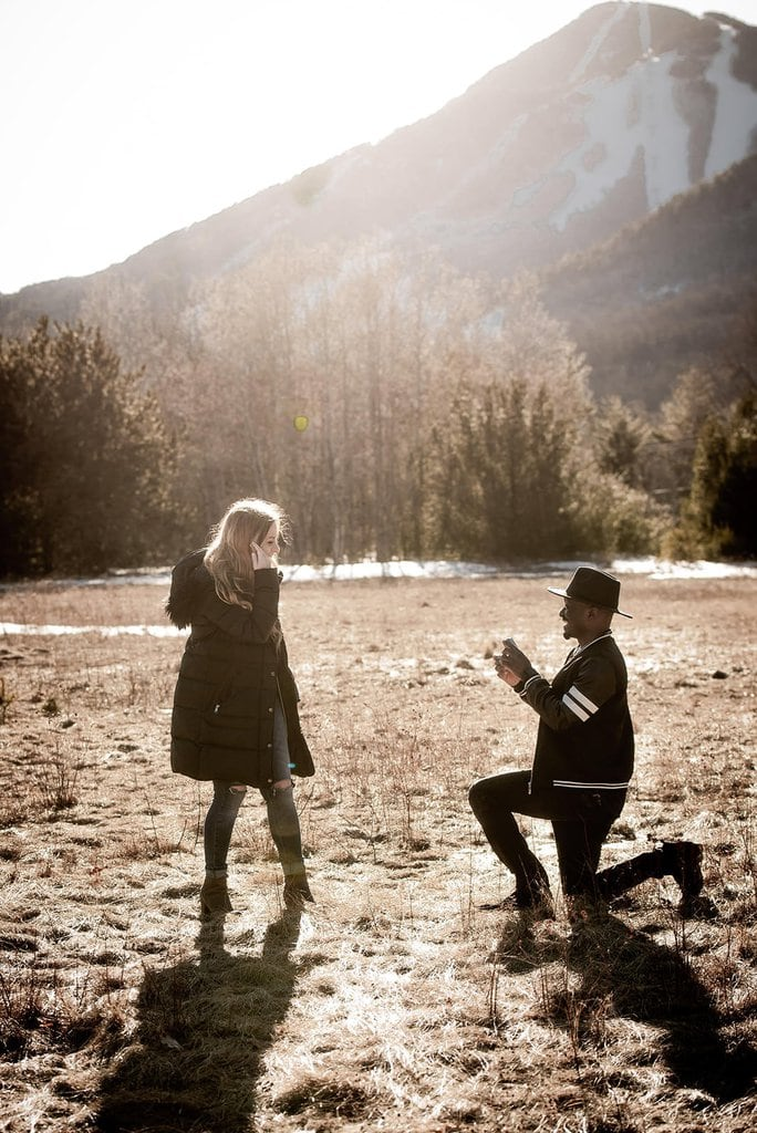 Gorgeous Surprise Proposal in the Adirondack Mountains, New York