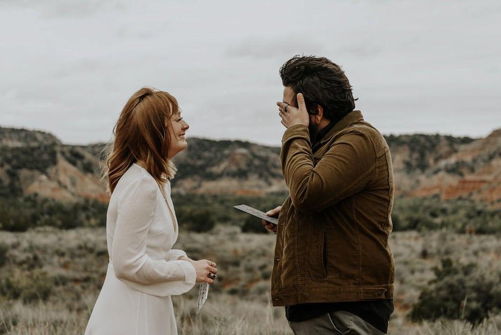 elopement ceremony vows