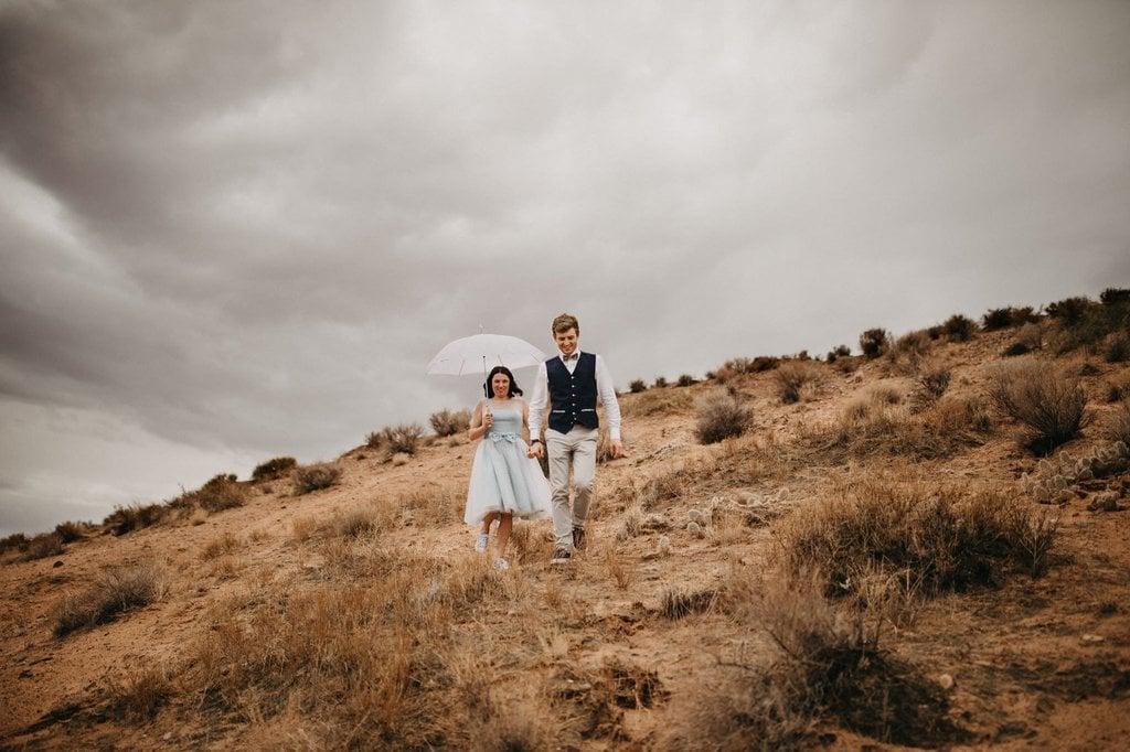lake powell arizona elopement wedding