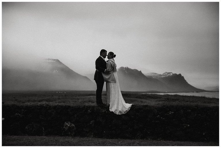 Intimate elopement adventure