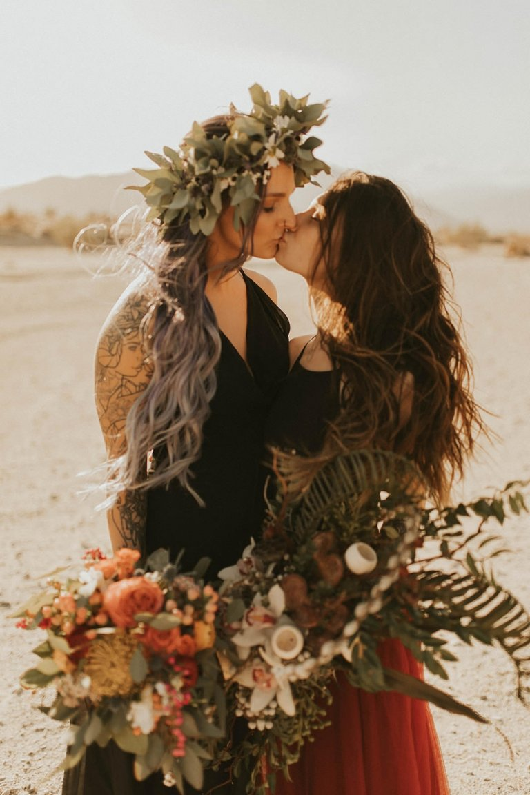 elopement photoshoot in California
