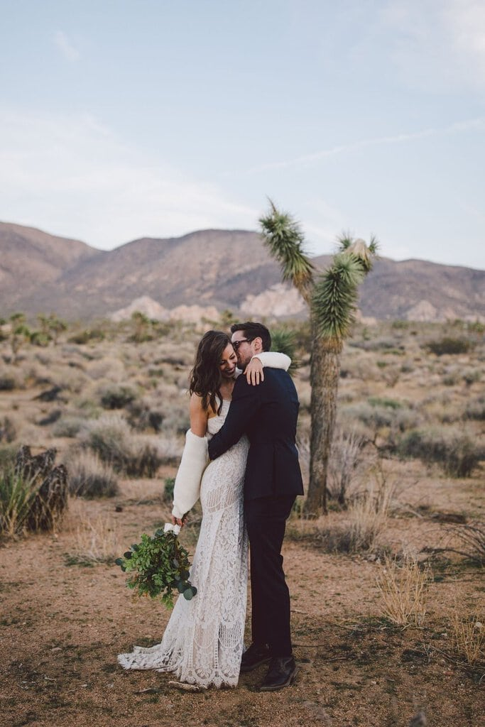 Desert Adventure Wedding at Joshua Tree National Park, California