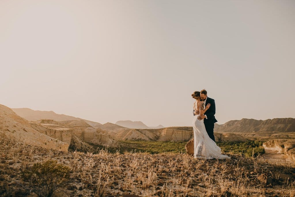 adventure elopement big bend national park southwest texas