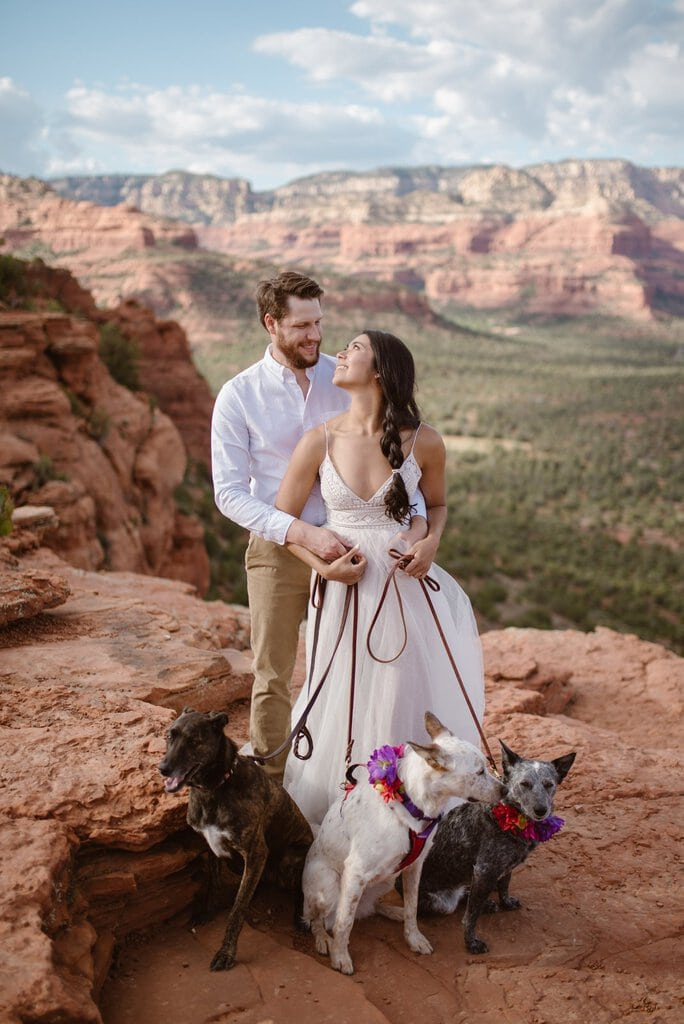 Arizona Adventure Wedding at Doe Mountain, Sedona