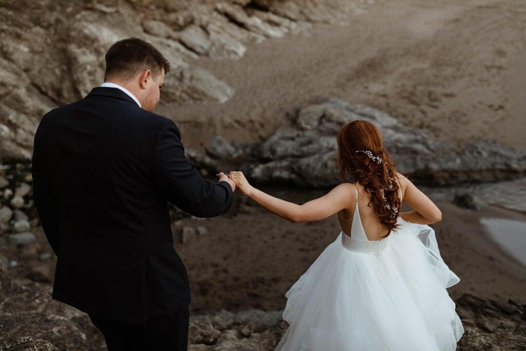 samuel h boardman state park brookings oregon beach elopement pnw wedding