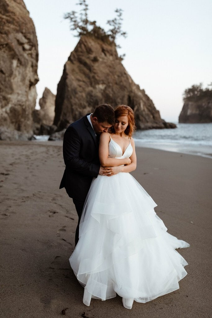 Pacific Northwest Beach Elopement in Brookings, Oregon