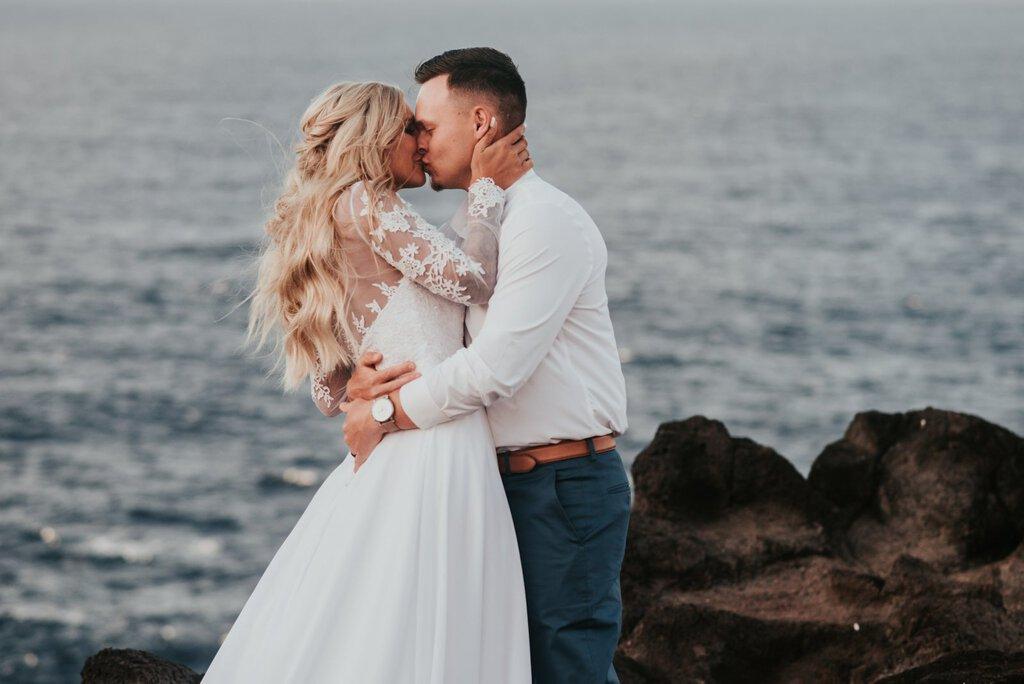 maui hawaii elopement beach wedding