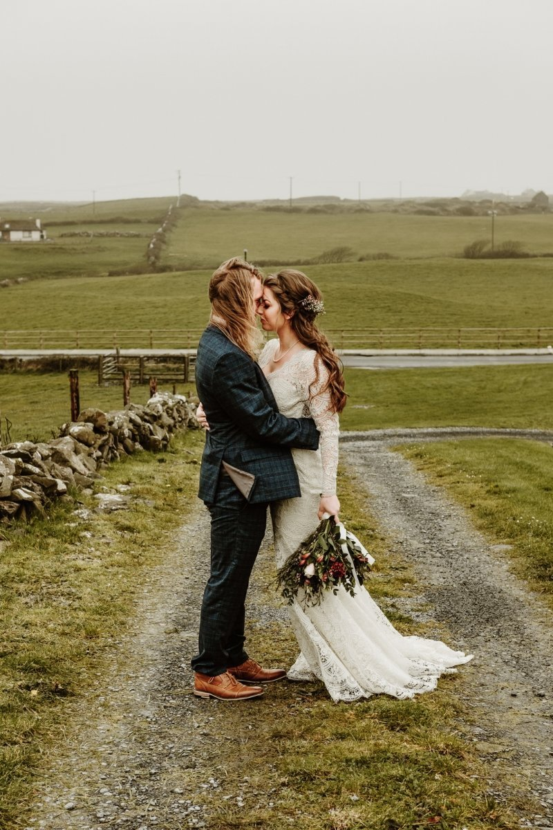 cliffs of Moher Ireland intimate destination wedding