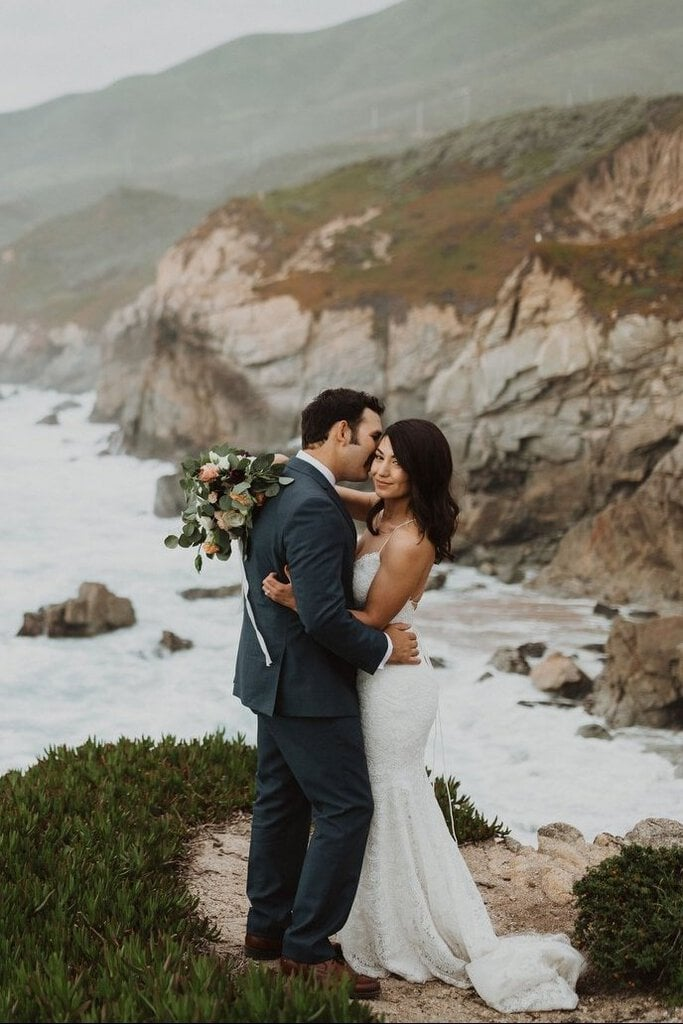 Intimate Central Coast Wedding in Big Sur, California