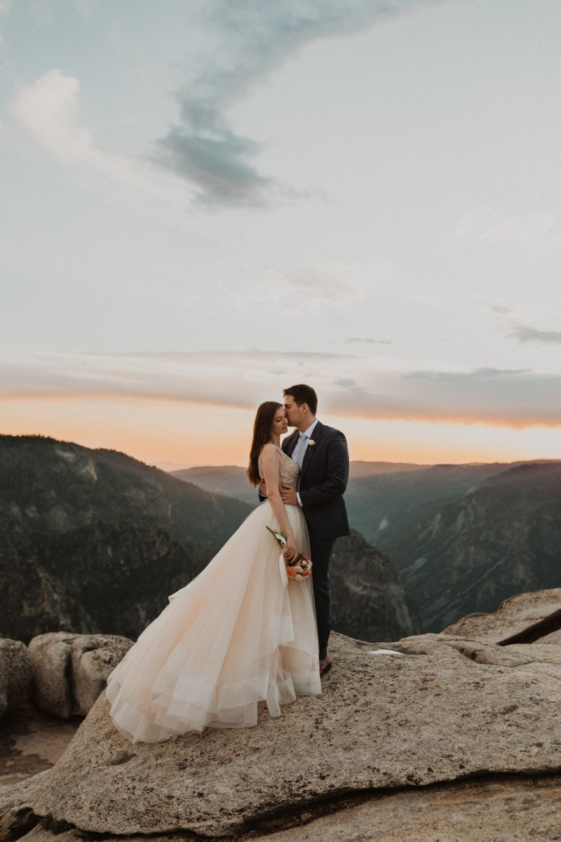 couple photography for intimate elopement in California.