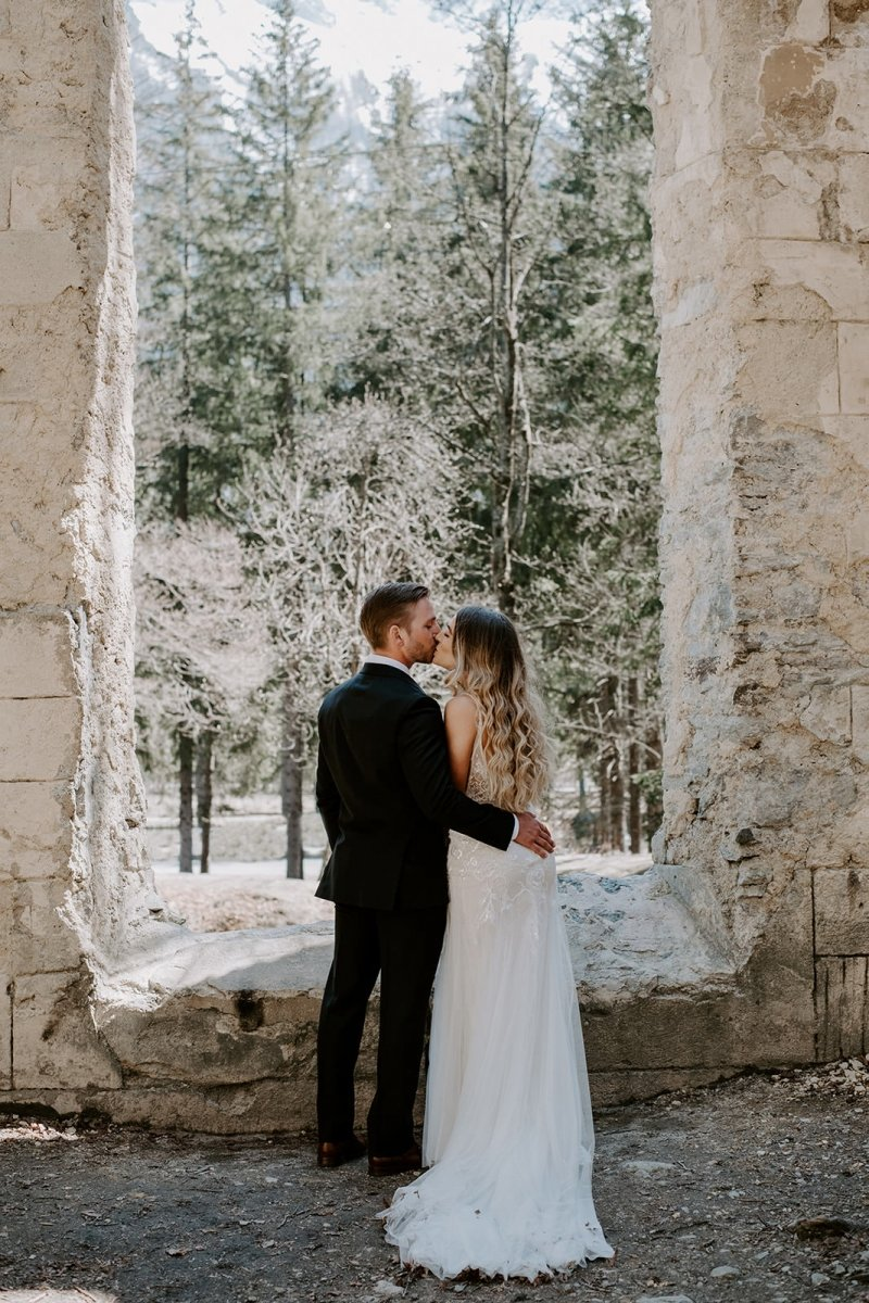 mountain wedding in France photography.