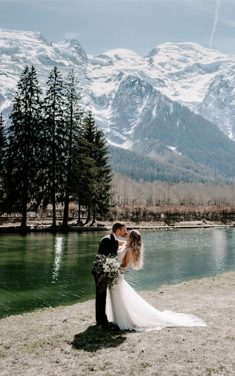 Chamonix, France wedding photography.
