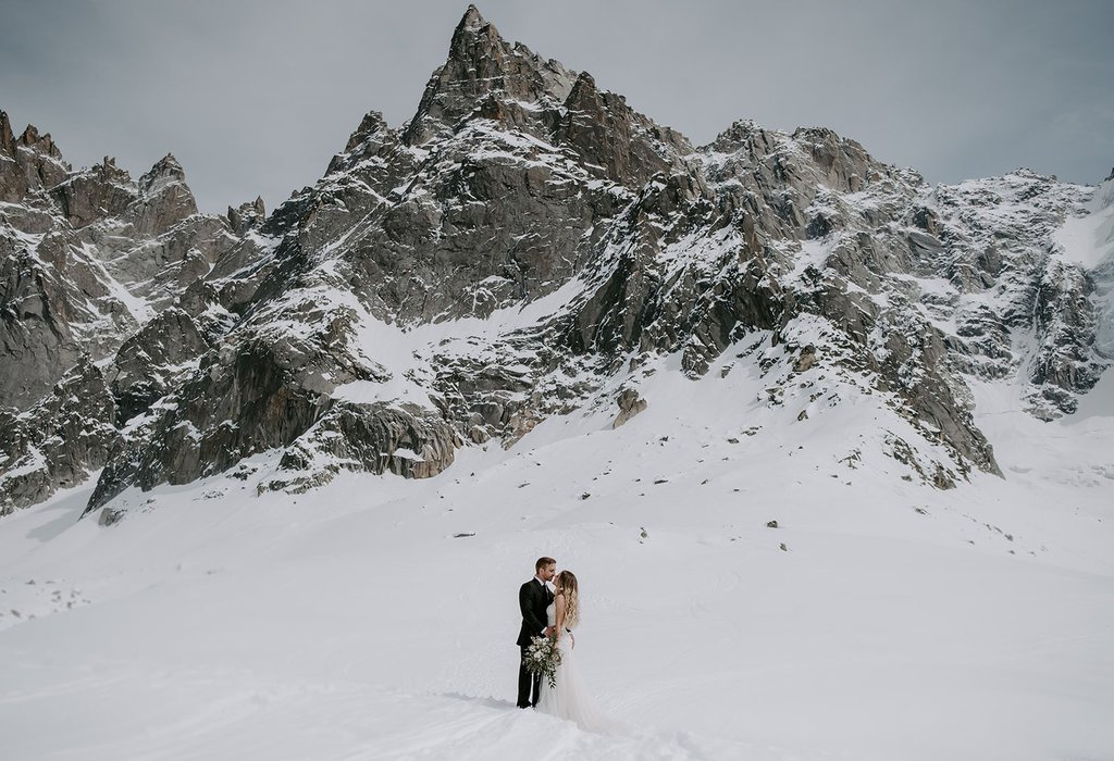 intimate wedding in France.