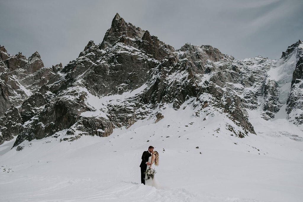 Chamonix France elopement.
