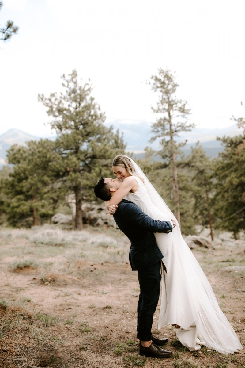 intimate wedding photography at national park