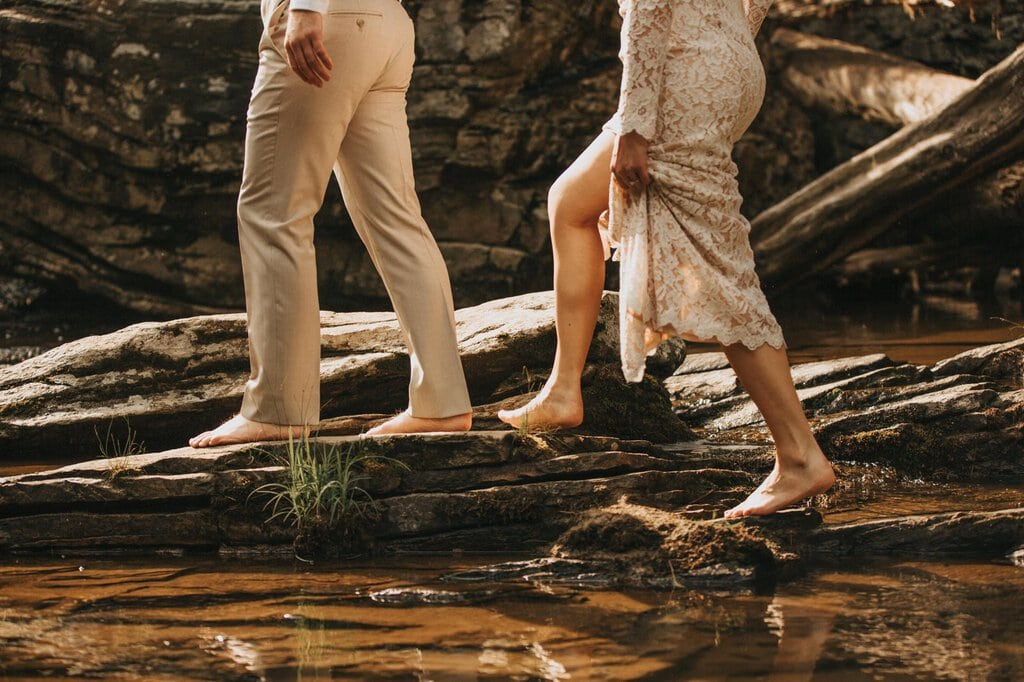 detail photography of adventurous elopement.