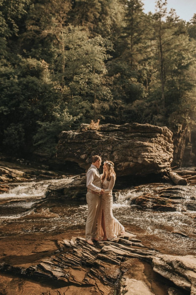 Bride and groom photography in North Carolina.