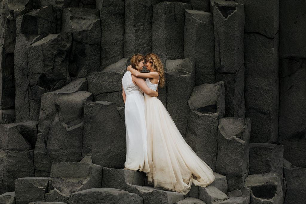 Iceland elopement adventure.