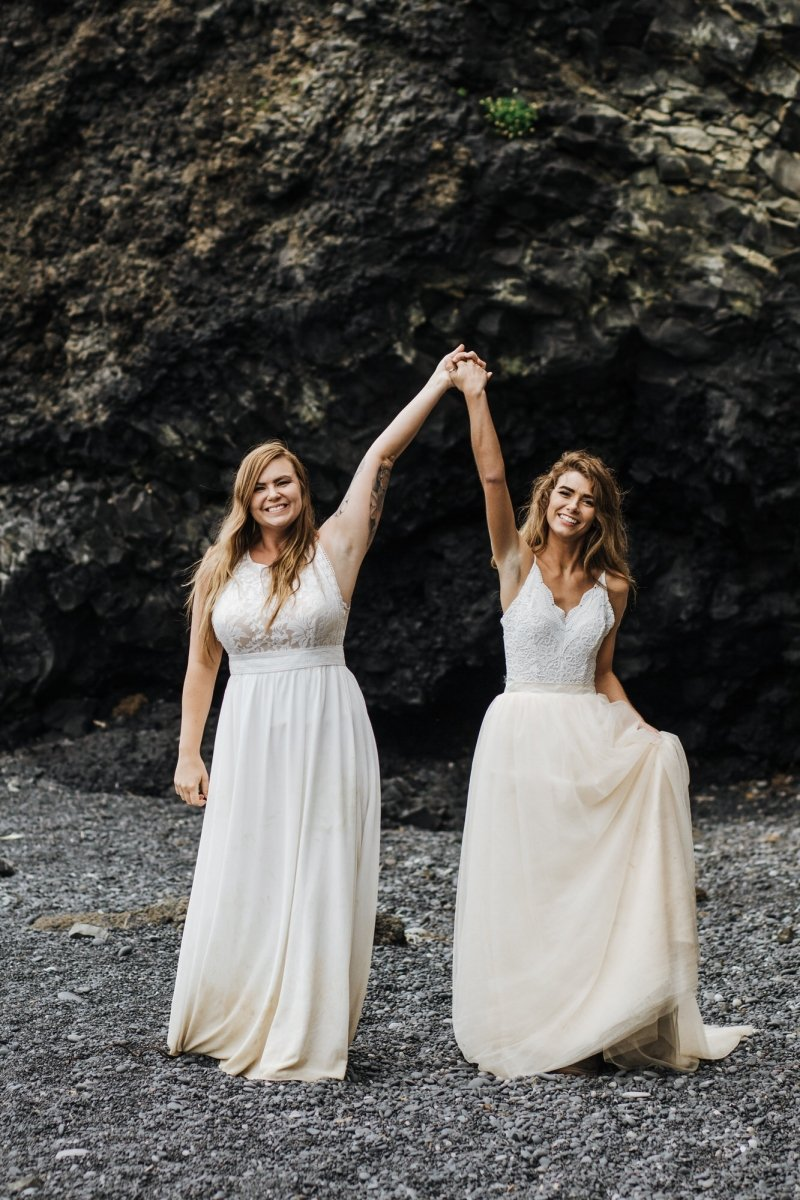 Brides celebrating soon to be marriage.